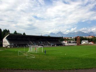 Futbalový štadion NTC Poprad