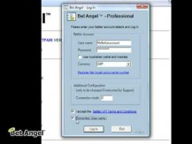 Bet Angel - Registering your account