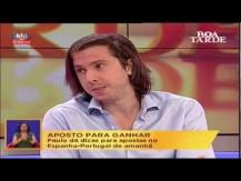 SIC Programa BOA TARDE - Entrevista Paulo Rebelo 26-06-2012