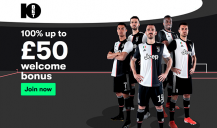 10Bet - Get a £50 Welcome Bonus (T&C apply)