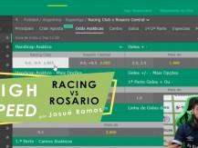 Apostas em minutos - previsão para Racing vs Rosario (campeonato argentino) (vídeo)