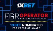 1xBet nominada a los premios EGR Operator Awards