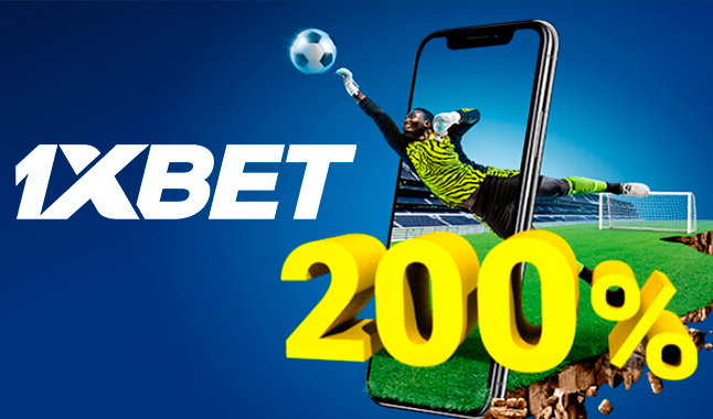 1xBet 200% First Deposit Bonus