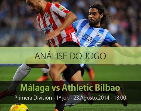 Análise do jogo: Málaga vs Ath Bilbao (23 Agosto 2014)