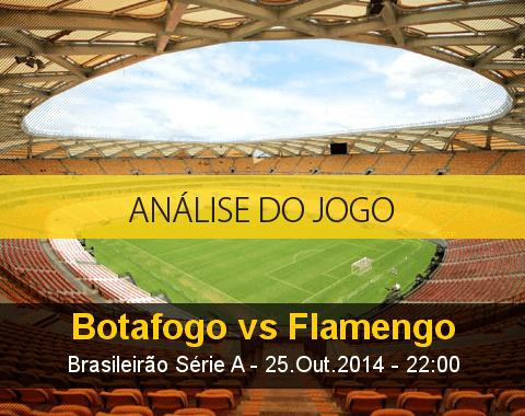 Análise do jogo: Botafogo X Flamengo (25 Outubro 2014)
