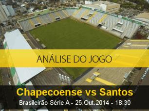Análise do jogo: Chapecoense X Santos (25 Outubro 2014)