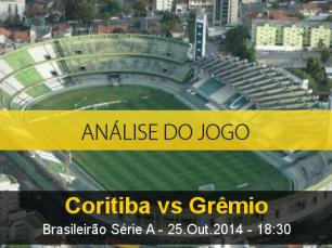 Análise do jogo: Coritiba X Grêmio (25 Outubro 2014)