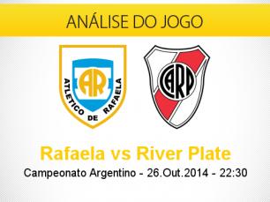 Análise do jogo: Atlético Rafaela X River Plate (26 Outubro 2014)