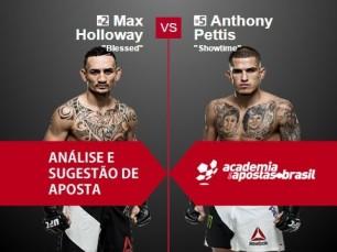Max Holloway x Anthony Pettis (UFC 10 de Dezembro de 2016)