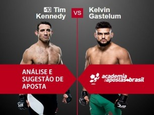 Timothy Kennedy x Kelvin Gastelum (UFC 10 de Dezembro de 2016)