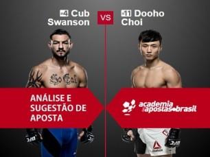 Cub Swanson x Dooho Choi (UFC 11 de Dezembro de 2016)