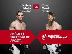 Jordan Mein x Emil Meek (UFC 11 de Dezembro de 2016)
