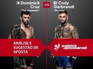 Dominick Cruz x Cody Garbrandt (UFC – 30 de Dezembro de 2016)