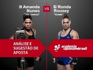 Amanda Nunes x Ronda Rousey (UFC – 30 de Dezembro de 2016)