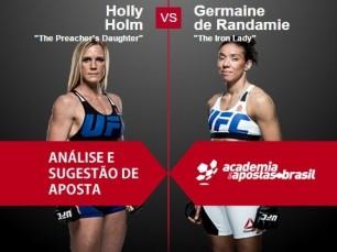 Holly Holm vs Germanie de Randamie (UFC – 11 de Fevereiro de 2017)