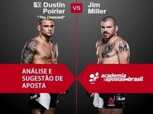 Dustin Poirier vs Jim Miller (UFC – 11 de Fevereiro de 2017)