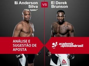 Anderson Silva vs Derek Brunson (UFC – 11 de Fevereiro de 2017)