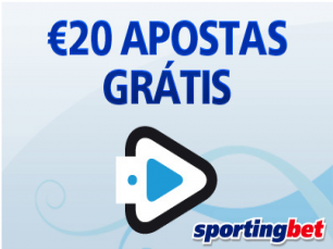 Queres começar o Ano com uma aposta grátis €20 todos os dias de Janeiro?