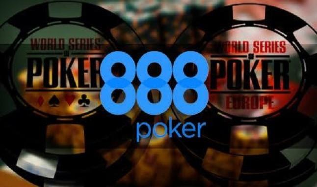 888Poker segue patrocinando o World Series of Poker