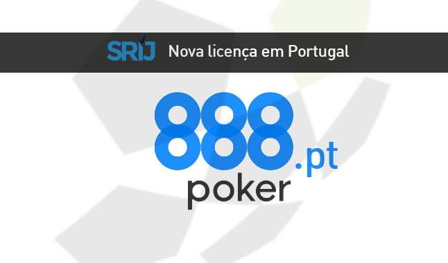 888 casino também vai ser a 888 poker em Portugal