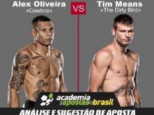 Alex Oliveira x Tim Means (UFC – 11 de Março de 2017)
