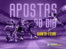 Melhores apostas do dia: Quinta-Feira 04/07