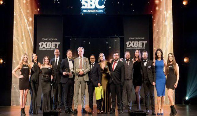 Bet365 e 1Xbet são premiadas na cerimônia do SBC Awards 2019