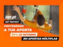 Protege as tuas múltiplas com a Bet Protect