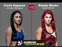 Carla Espanza vs Randa Markos (UFC – 19 de Fevereiro de 2017)
