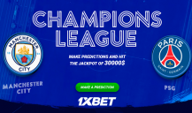 Champions League: Predict and win 30.000$