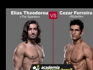 Elias Theodorou x Cezar Ferreira (UFC – 19 de Fevereiro de 2017)