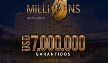 Entenda como disputar US$ 5 milhões no Millions South America sem investir um centavo