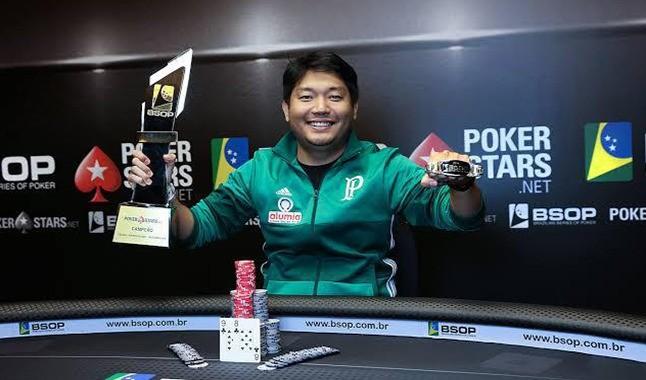 Entrevista con Luis Kamei, campeón de los dos eventos de póker más grandes en Brasil