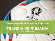 Oportunidades para apostar en el partido inaugural del Euro 2016