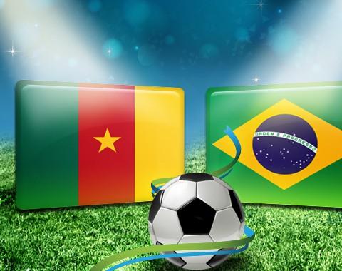 Camarões vs Brasil: duplica o saldo em caso de vitória do Brasil