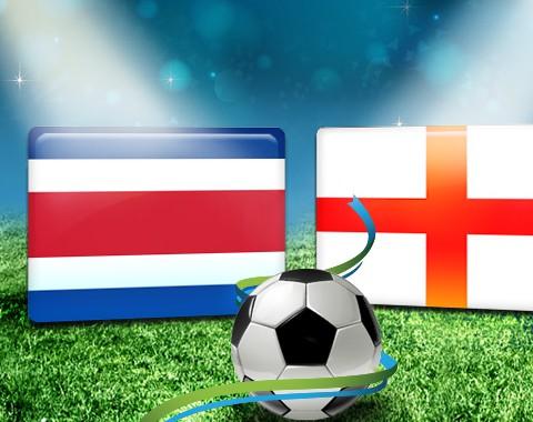 Costa Rica vs Inglaterra: o maior prémio que vais encontrar ao apostar em qualquer uma destas equipa