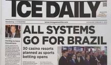 O jornal ICE Daily destaca o mercado de jogos no Brasil