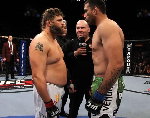 Roy Nelson vs Antônio Silva (UFC – 25 de Setembro de 2016)