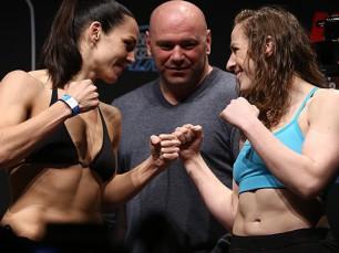 Sara McMann x Alexis Davis (UFC – 04 de Dezembro de 2016)