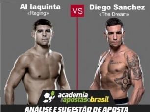 Al Iaquinta x Diego Sanchez (UFC – 22 de Abril de 2017)