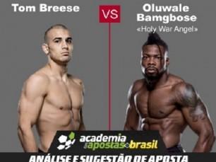 Tom Breese x Oluwale Bamgbose (UFC – 18 de Março de 2017)