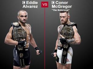 Eddie Alvarez x Conor McGregor (UFC – 12 de Novembro de 2016)