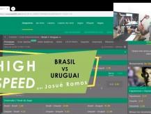 Amistoso Brasil vs Uruguai (vídeo)