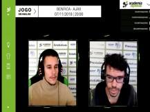 Análise Academia - Benfica vs Ajax