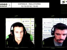 Análise Academia - Espanha vs Inglaterra