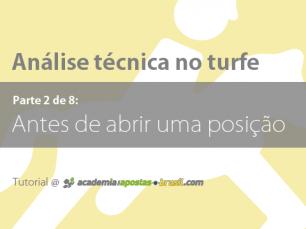 Análise técnica no turfe: 14 pontos antes de abrir uma posição (2/8)