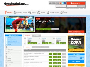 ApostasOnline - melhor bônus, análise e revisão