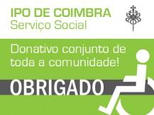 Aposta Solidária de toda a comunidade: IPO de Coimbra