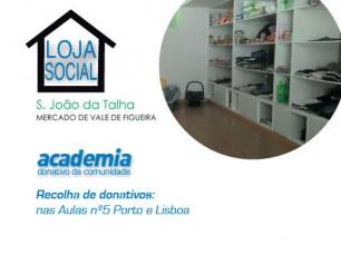 Aposta Solidária da comunidade: Loja Social de S. João da Talha