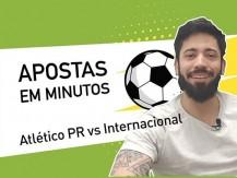 Atlético Paranaense vs Internacional – jogo do Brasileirão entre jogos da Copa do Brasil (vídeo)
